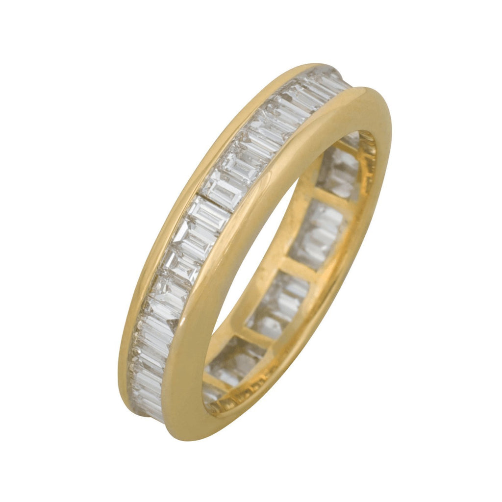 Channel Set Diamond Eternity Band Rings Miscellaneous