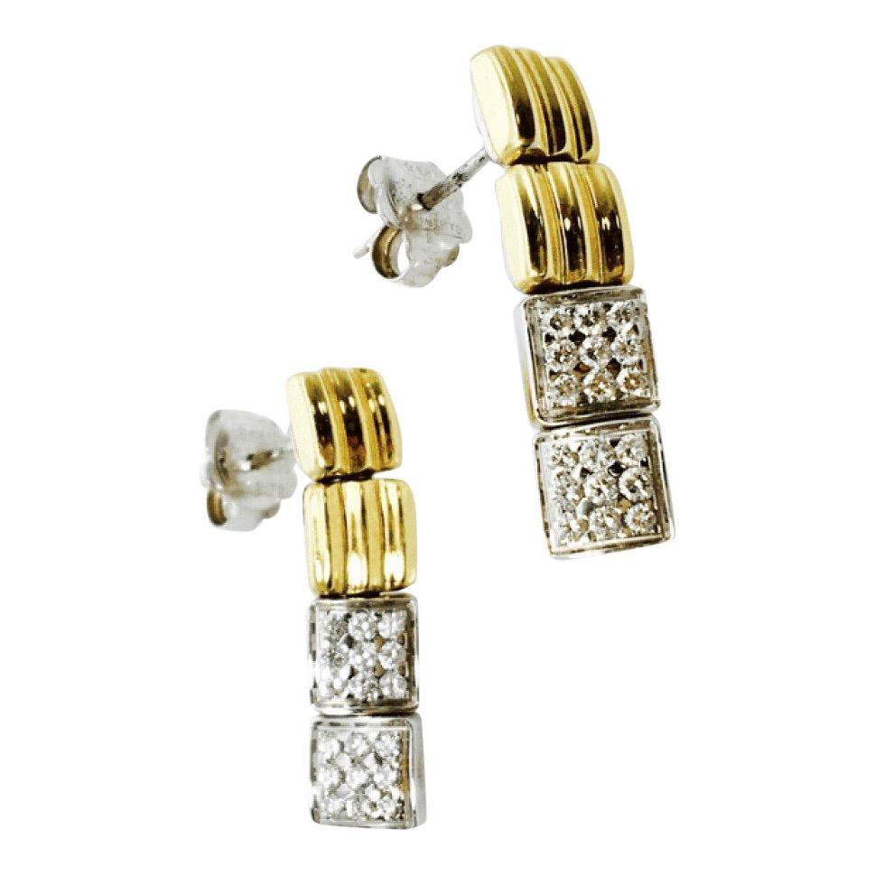 Chimento Diamond Drop Earrings Earrings Miscellaneous