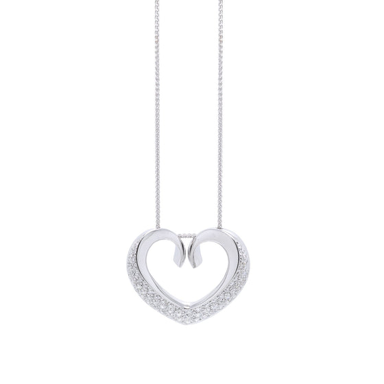 Chimento Diamond Heart Pendant Necklace w/ Box Necklaces Chimento