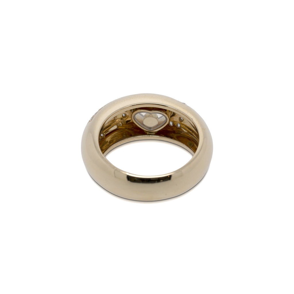 Chopard 18k Gold Diamond Love Ring Rings Chopard