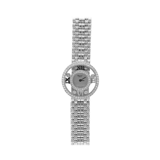 Chopard 18k white Gold Happy Diamonds Icons Watch Watches Chopard