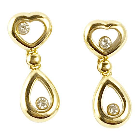 Chopard Happy Diamond Earrings Earrings Chopard