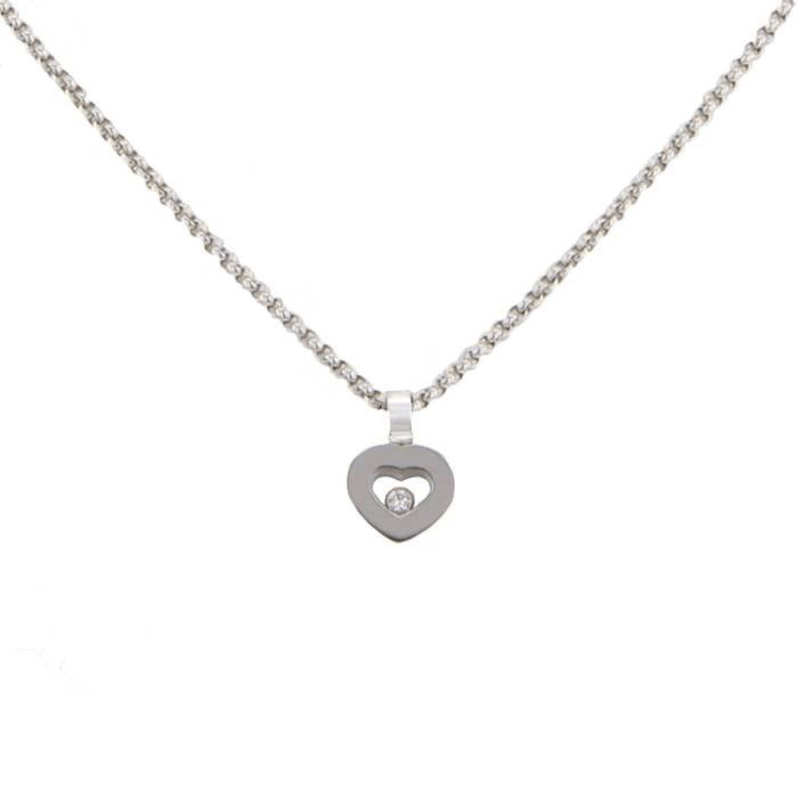 aaf6aa0785873 Chopard Happy Diamonds Icon Heart Pendant Necklace Necklaces Chopard