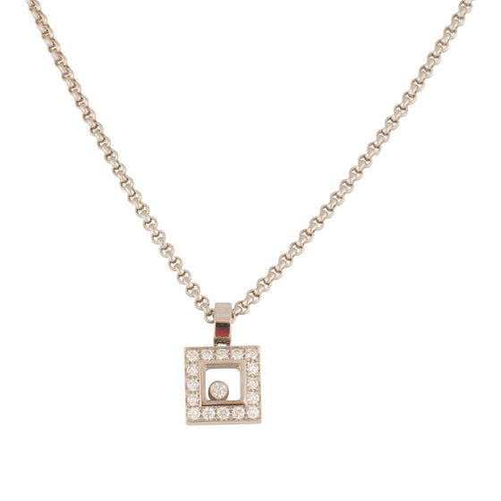 Chopard Happy Diamonds Icons Square Pendant Necklaces Chopard