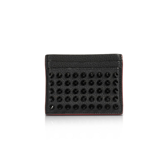 Christian Louboutin Kios Spiked Card Holder Wallets Miscellaneous