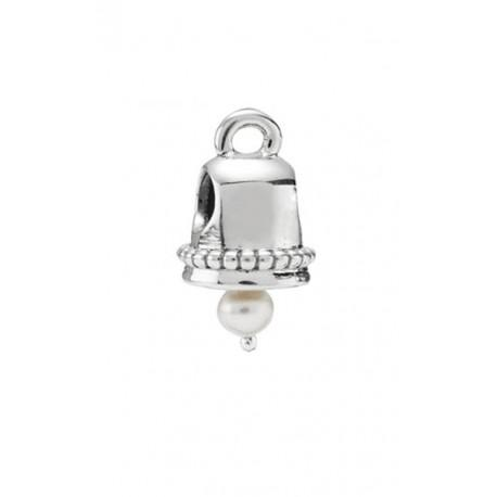 Pandora Bell Charm with Pearl