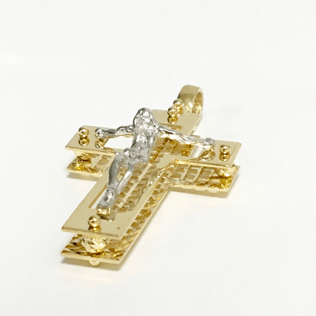 Crucifix Cross Pendant - Charms & Pendants
