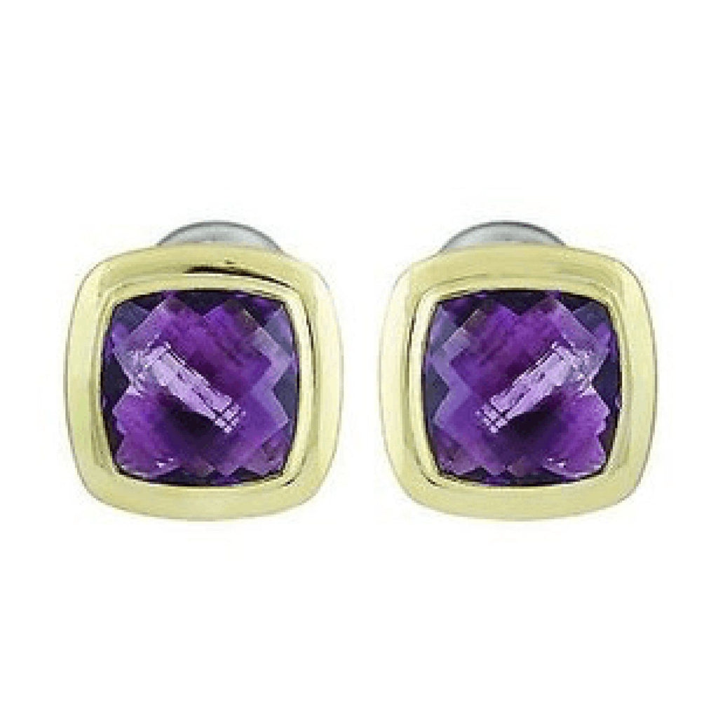 David Yurman Albion Amethyst Earrings Earrings David Yurman