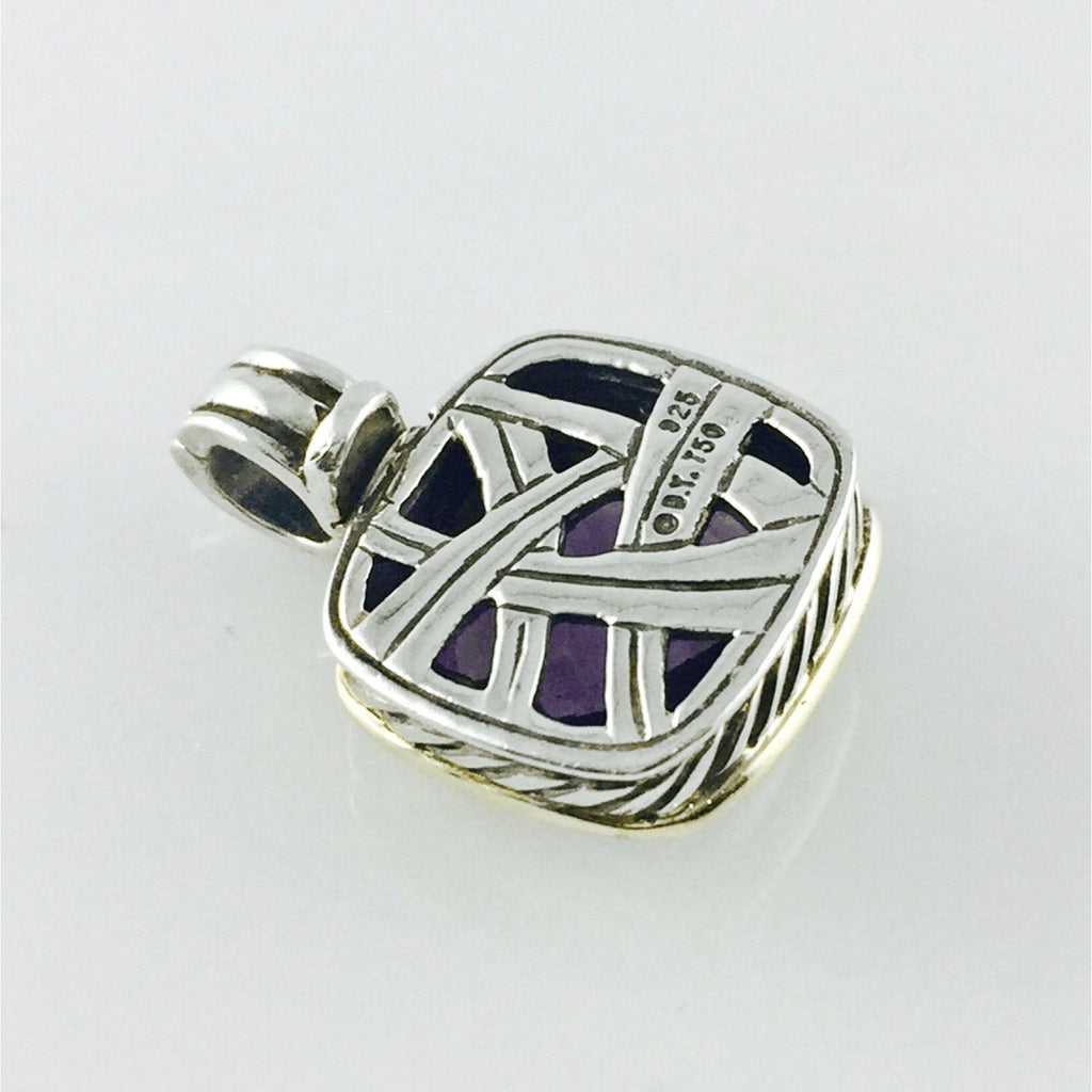 David Yurman Albion Amethyst Pendant - Charms & Pendants