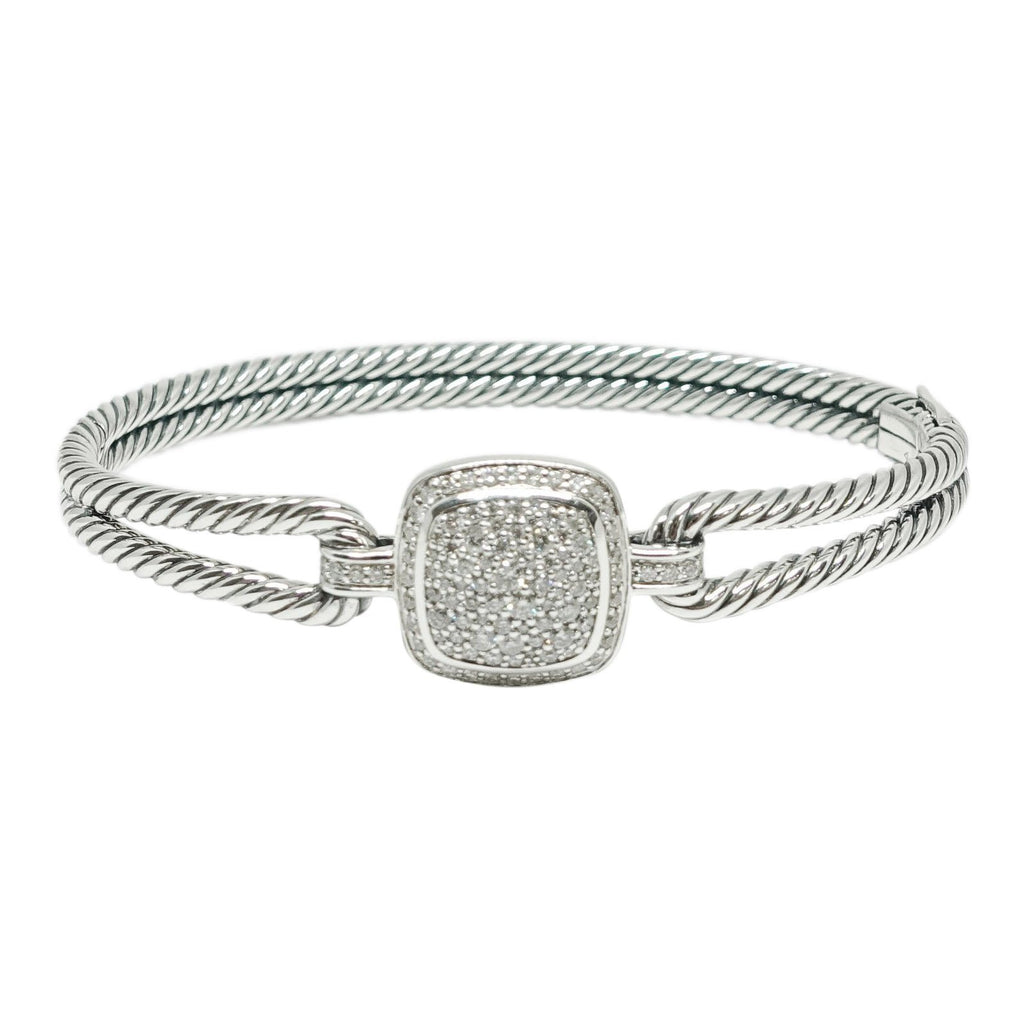 David Yurman Albion Bracelet with Diamonds Bracelets David Yurman