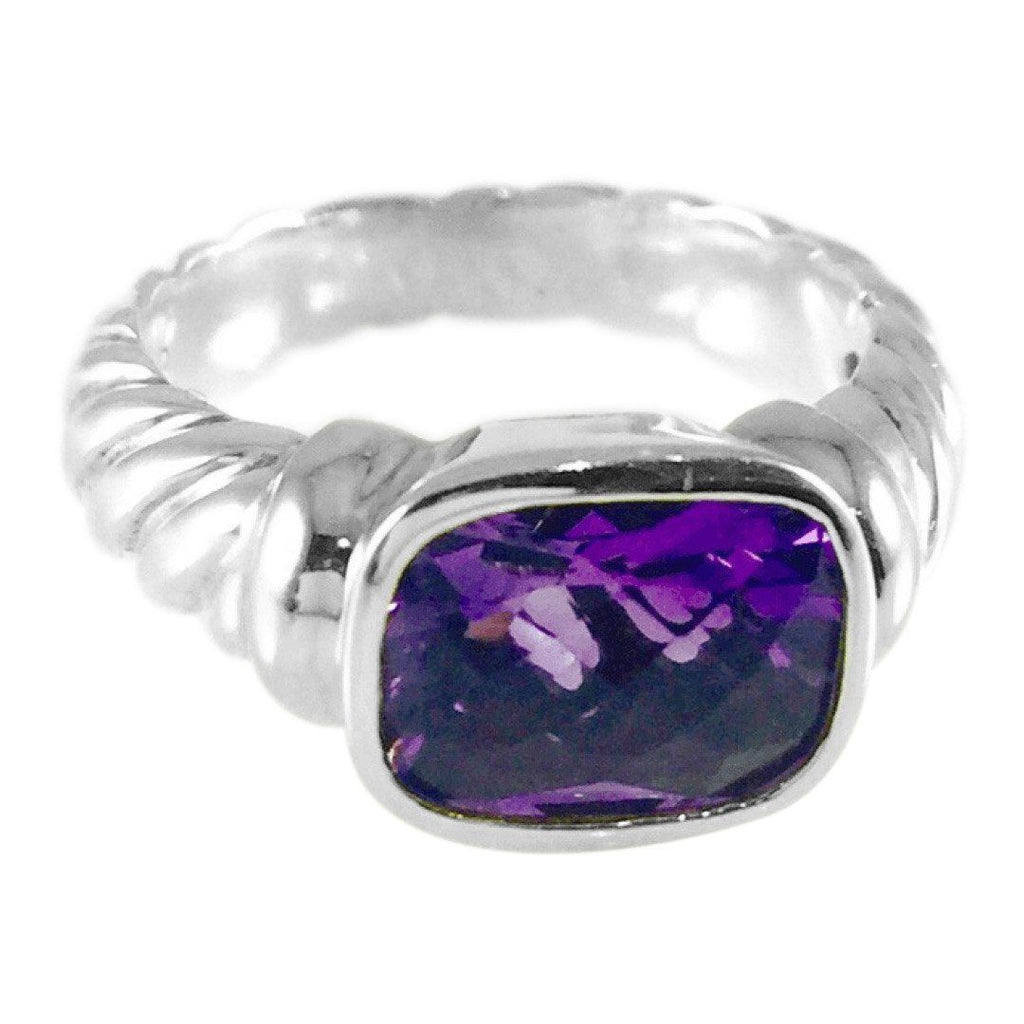 David Yurman Amethyst Noblesse Ring Rings David Yurman