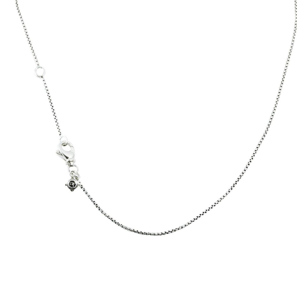 David Yurman Baby Box Chain Necklace Necklaces David Yurman
