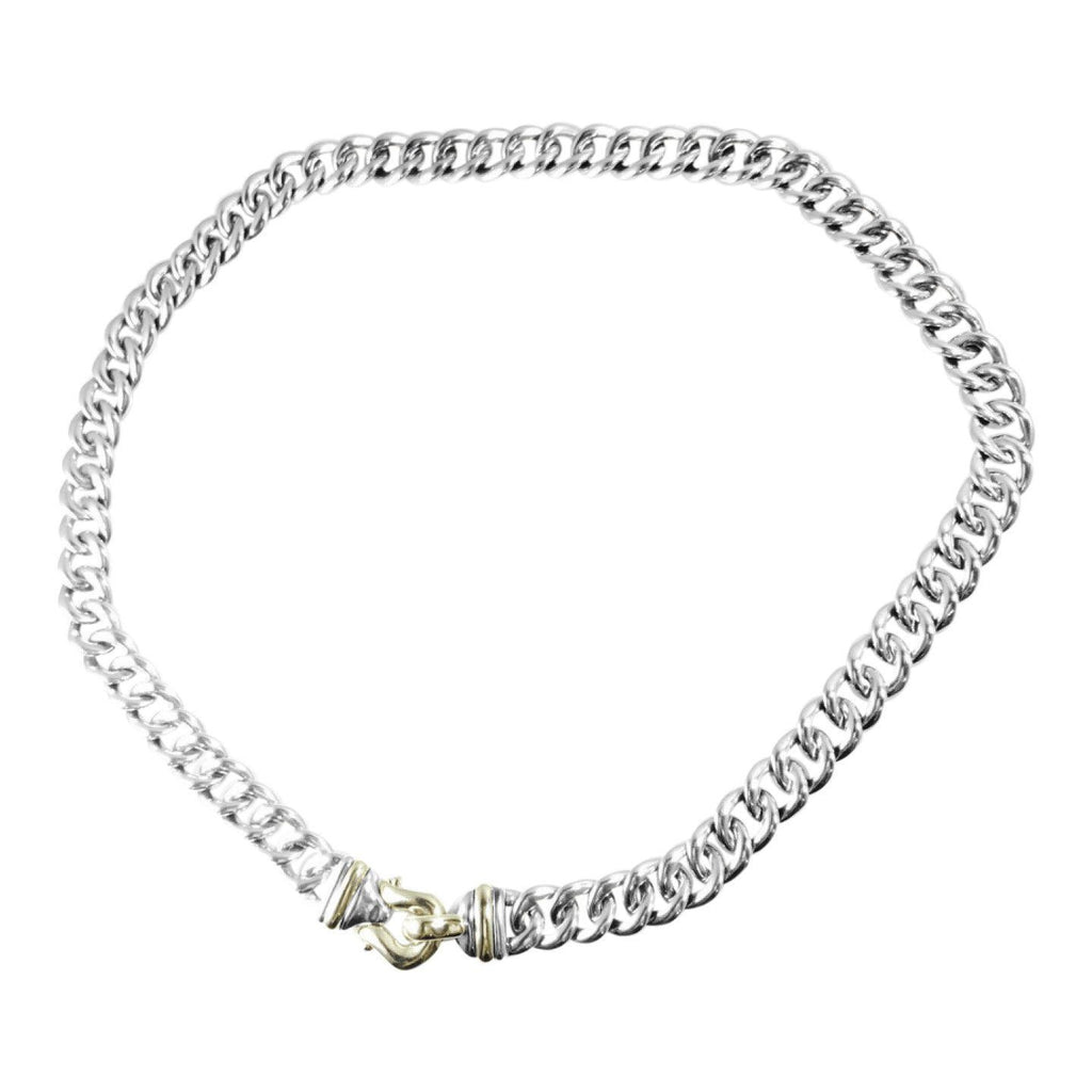 David Yurman Cable Buckle Chain Necklace Necklaces David Yurman