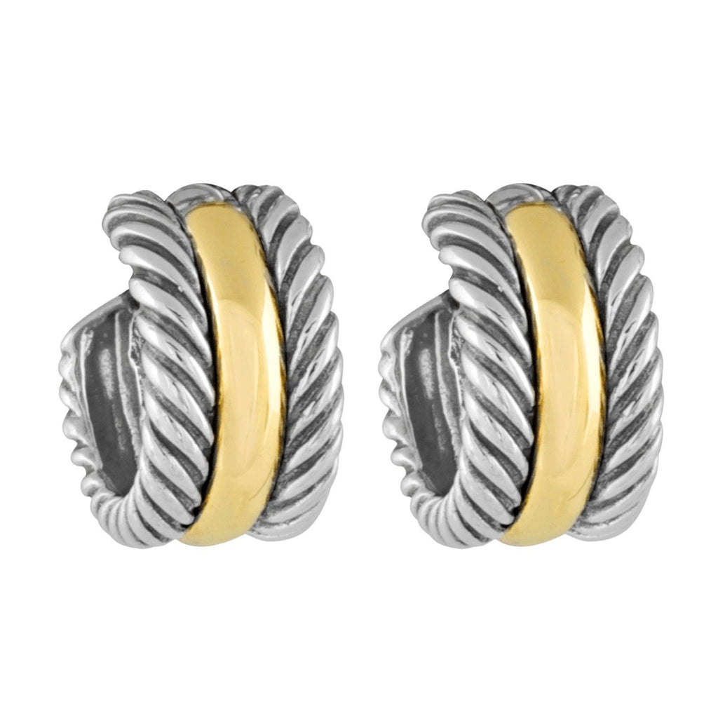 David Yurman Cable Collectibles Hoop Earrings Earrings David Yurman