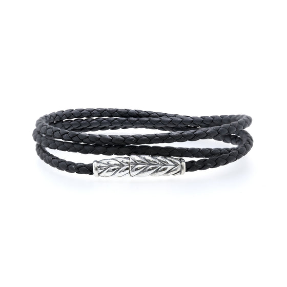 David Yurman Chevron Triple-Wrap Bracelet Men's Jewellery David Yurman