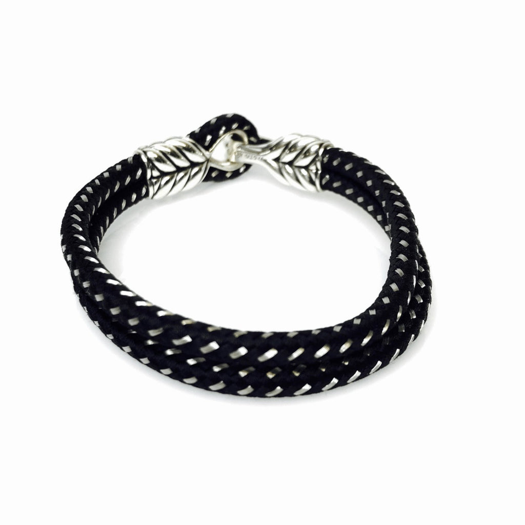 David Yurman Chevron Woven Cord Bracelet Men's Jewellery David Yurman