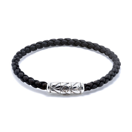 David Yurman Chevron Woven Rubber Bracelet Men's Jewellery David Yurman