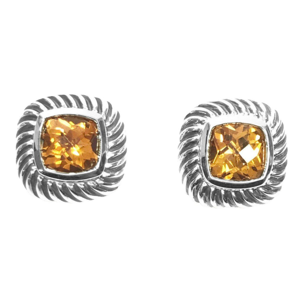 David Yurman Citrine Albion Earrings - Earrings