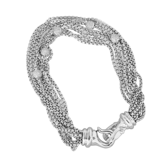 David Yurman Eight-Row Chain Bracelet Bracelets David Yurman