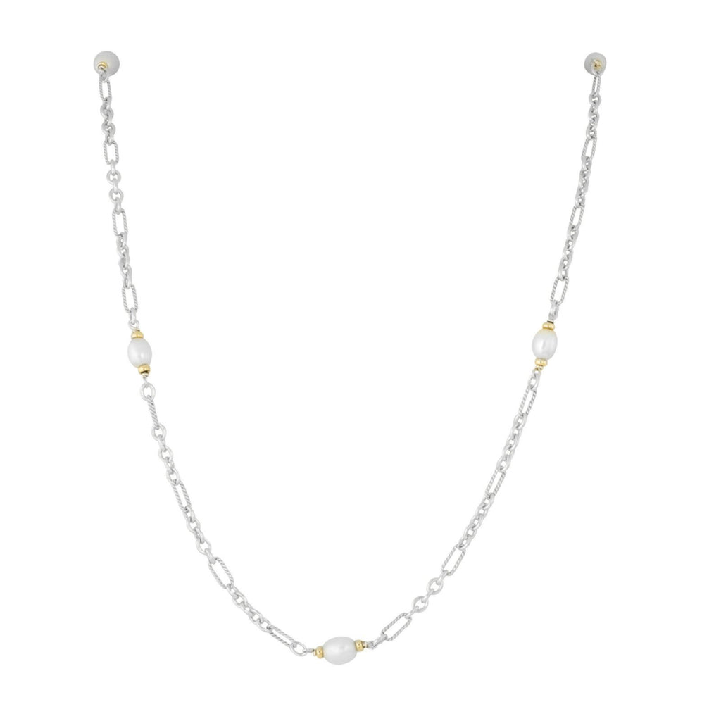 David Yurman Figaro Chain Bead Necklace Necklaces David Yurman