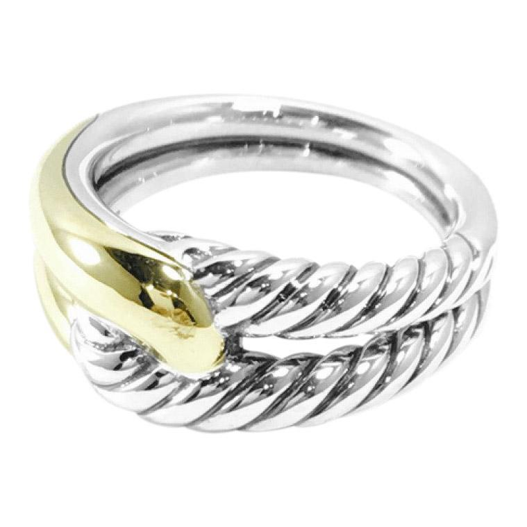 David Yurman Labyrinth Single-Loop Ring Rings David Yurman