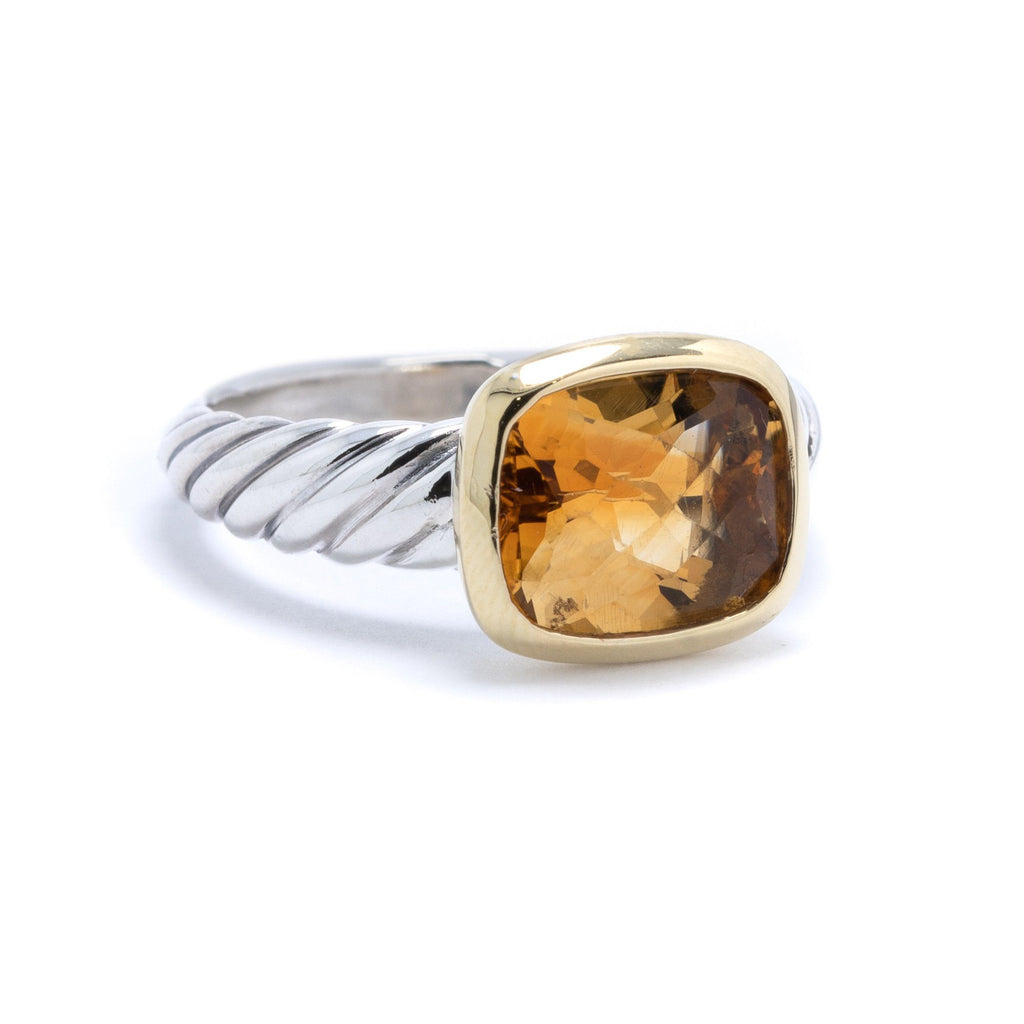 David Yurman Noblesse Citrine Ring Rings David Yurman