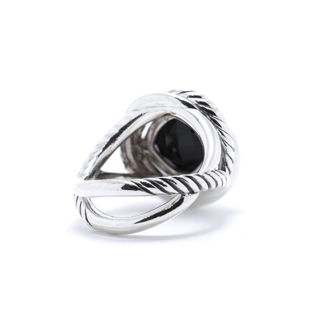 David Yurman Onyx Infinity Ring Rings David Yurman