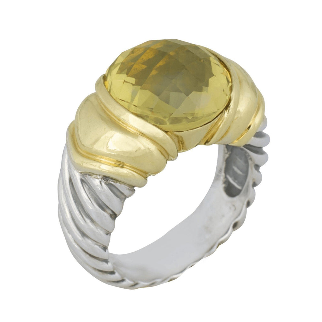 David Yurman Prasiolite Ring Rings David Yurman