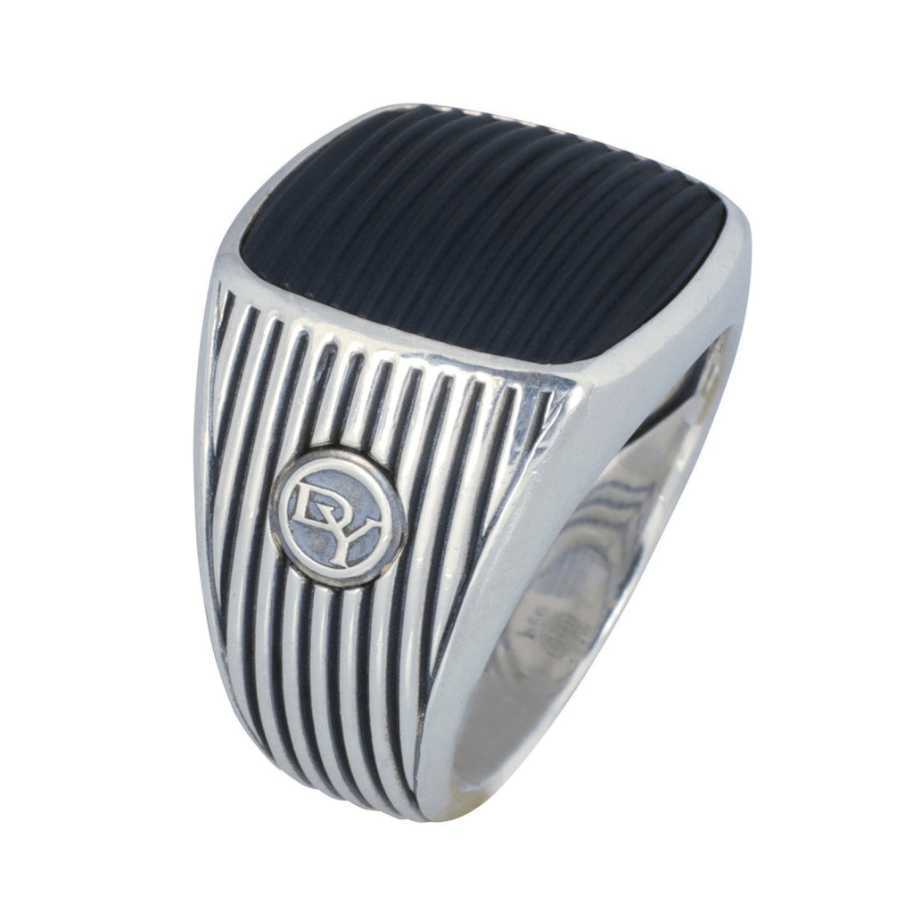 David Yurman Royal Cord Signet Ring Men's Jewellery David Yurman