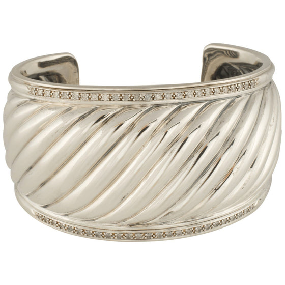 David Yurman Sculpted Cable Cuff - Bracelets