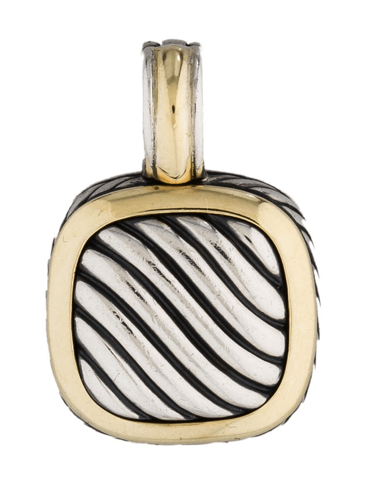 David Yurman Sculpted Cable Pendant - Charms & Pendants