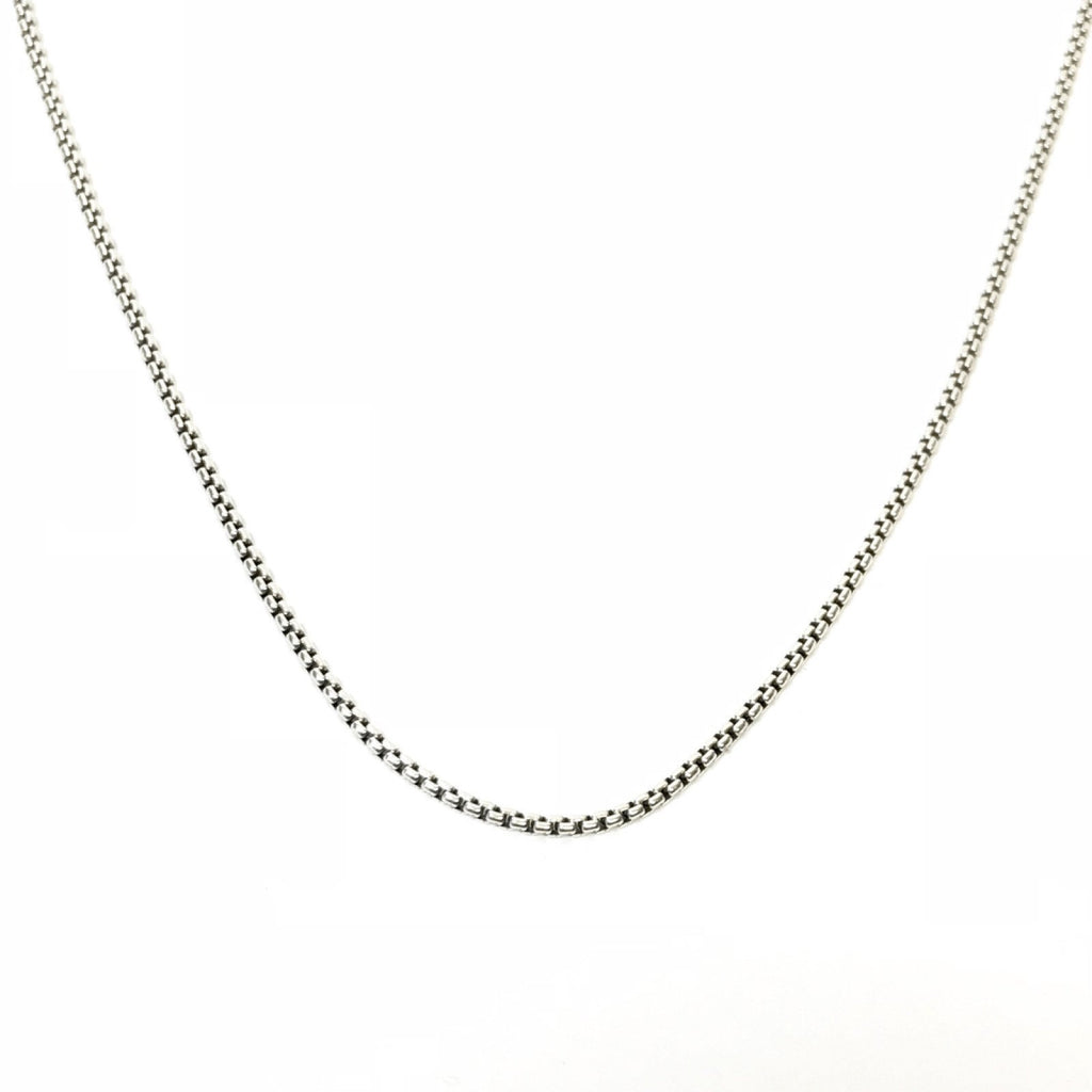 David Yurman Small Box Chain Necklace Necklaces David Yurman