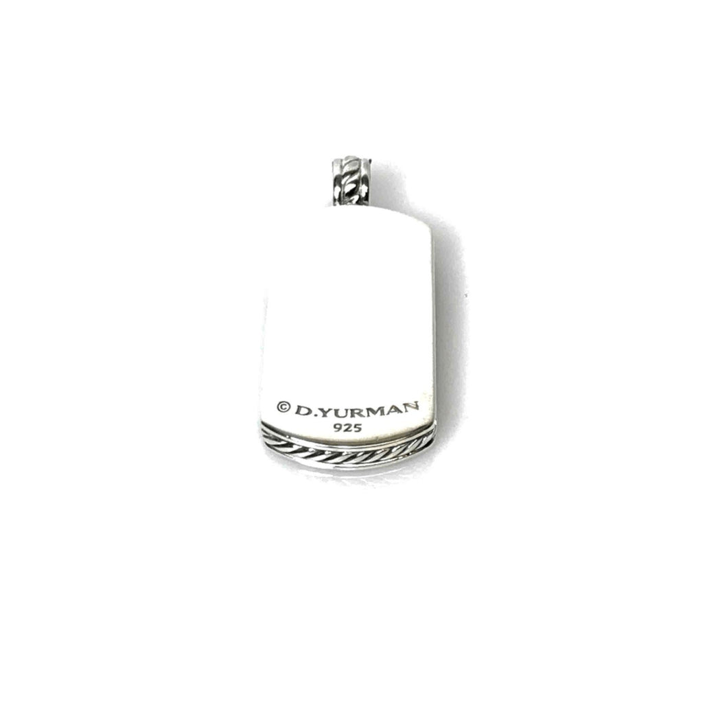 David Yurman Tag Pendant - Mens Jewellery