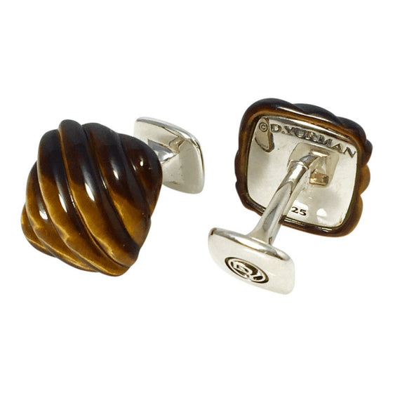 David Yurman Tiger's Eye Cufflinks Men's Jewellery David Yurman
