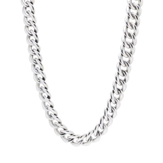 David Yurman Two-Tone Cable Buckle Chain Necklace Necklaces David Yurman
