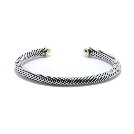 David Yurman Two-Tone Cable Classics Bracelet Bracelets David Yurman