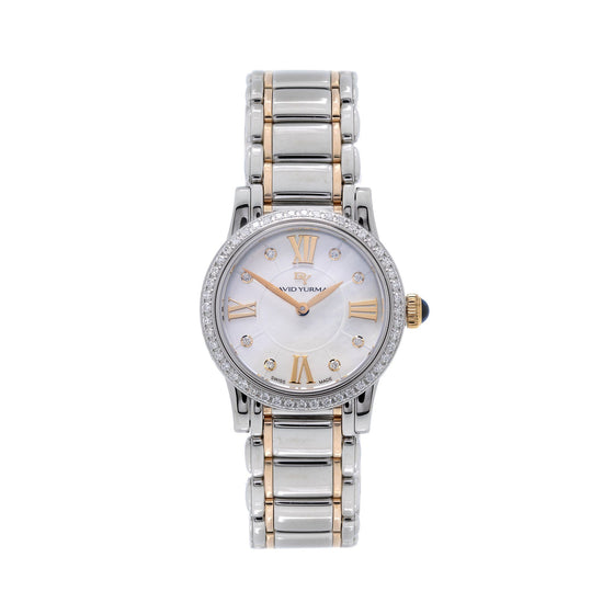 David Yurman Two-Tone Diamond Classic Watch Watches David Yurman