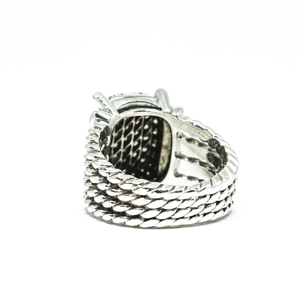 David Yurman Wheaton Ring With Diamonds - Rings