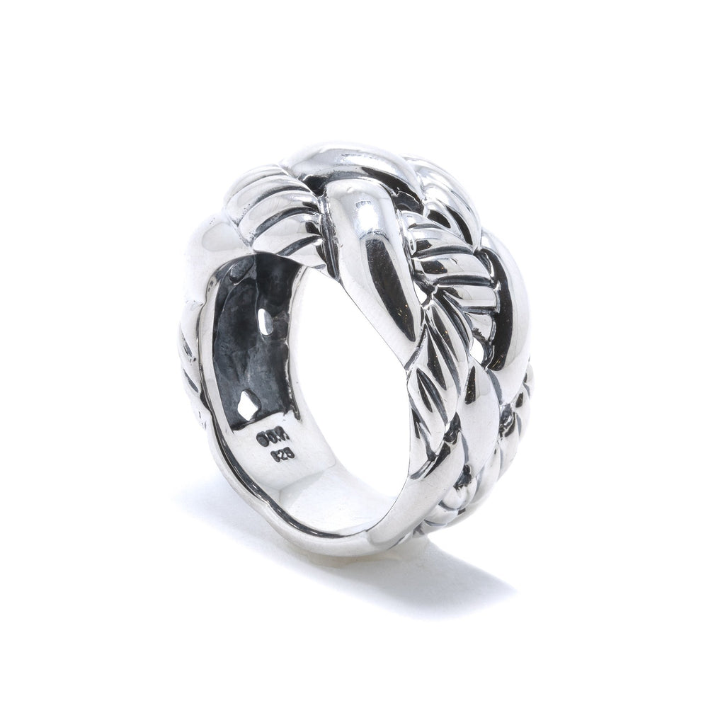 David Yurman Woven Cable Ring Rings David Yurman