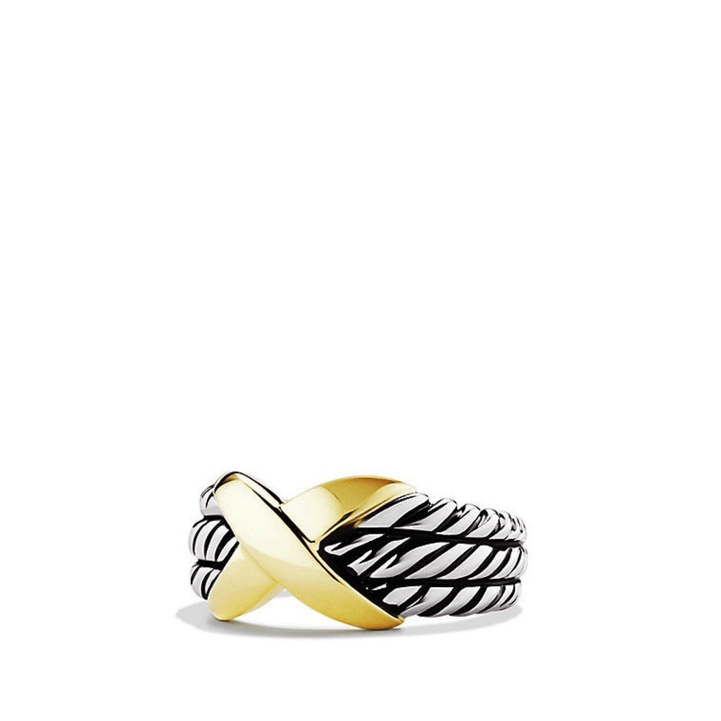 David Yurman X Triple-Row Ring - Rings