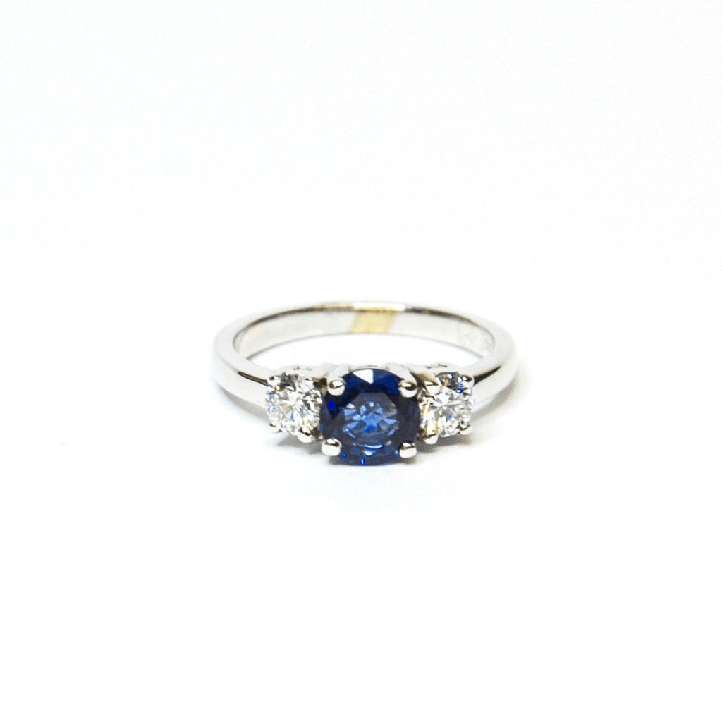 Diamond and Sapphire Ring Rings Miscellaneous