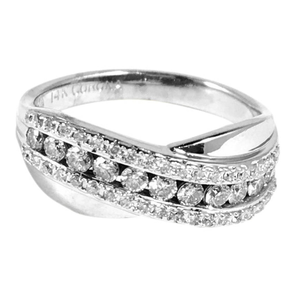 Diamond Band Rings Miscellaneous