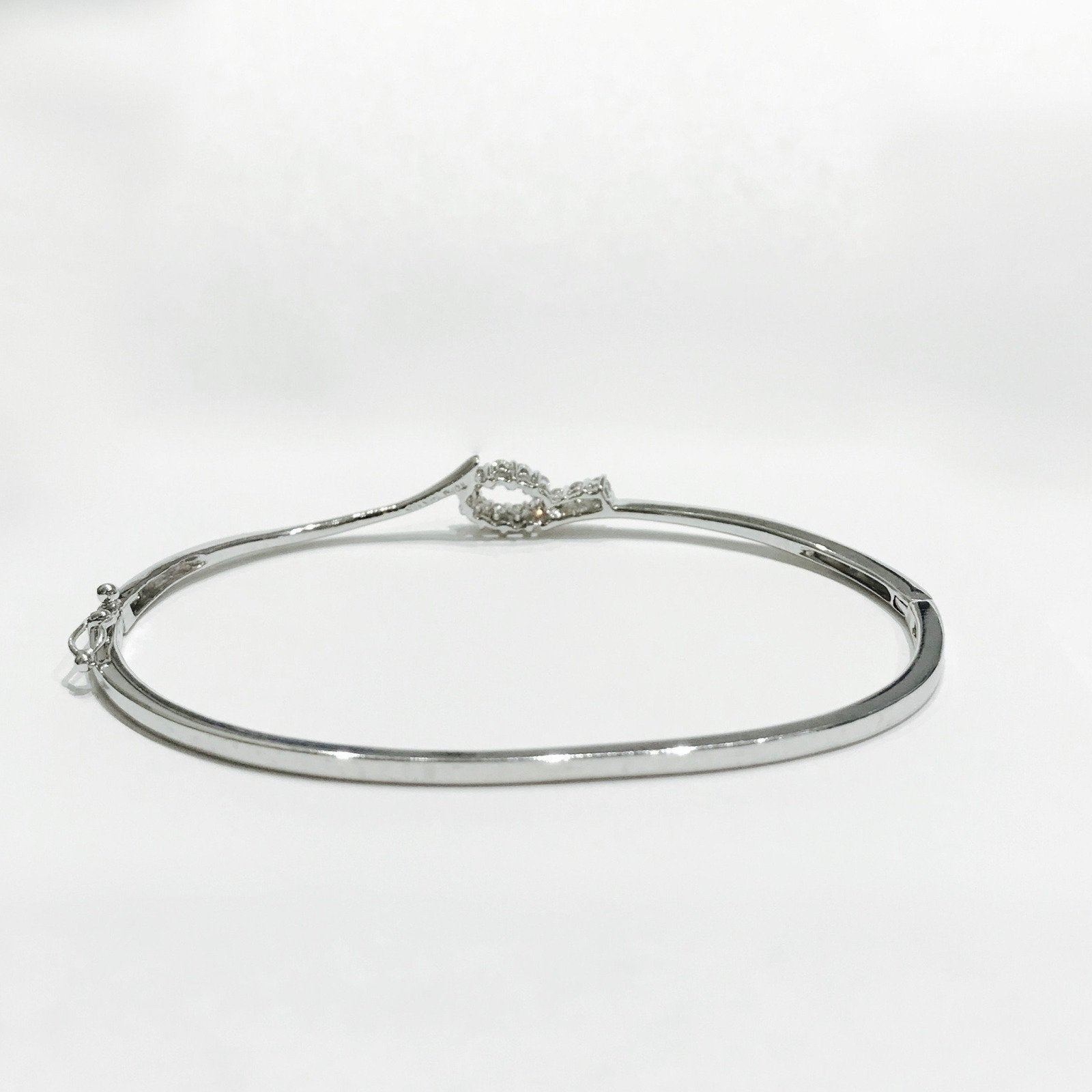 bracelets custom and bangles bracelet made pin bangle diamond karat white gold