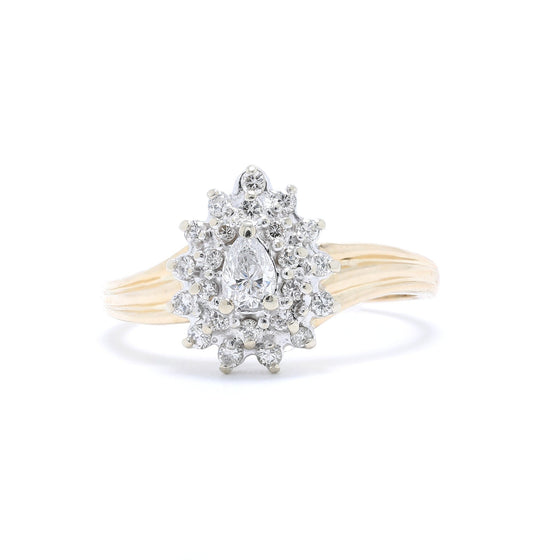 Diamond Cluster Ring Rings Miscellaneous