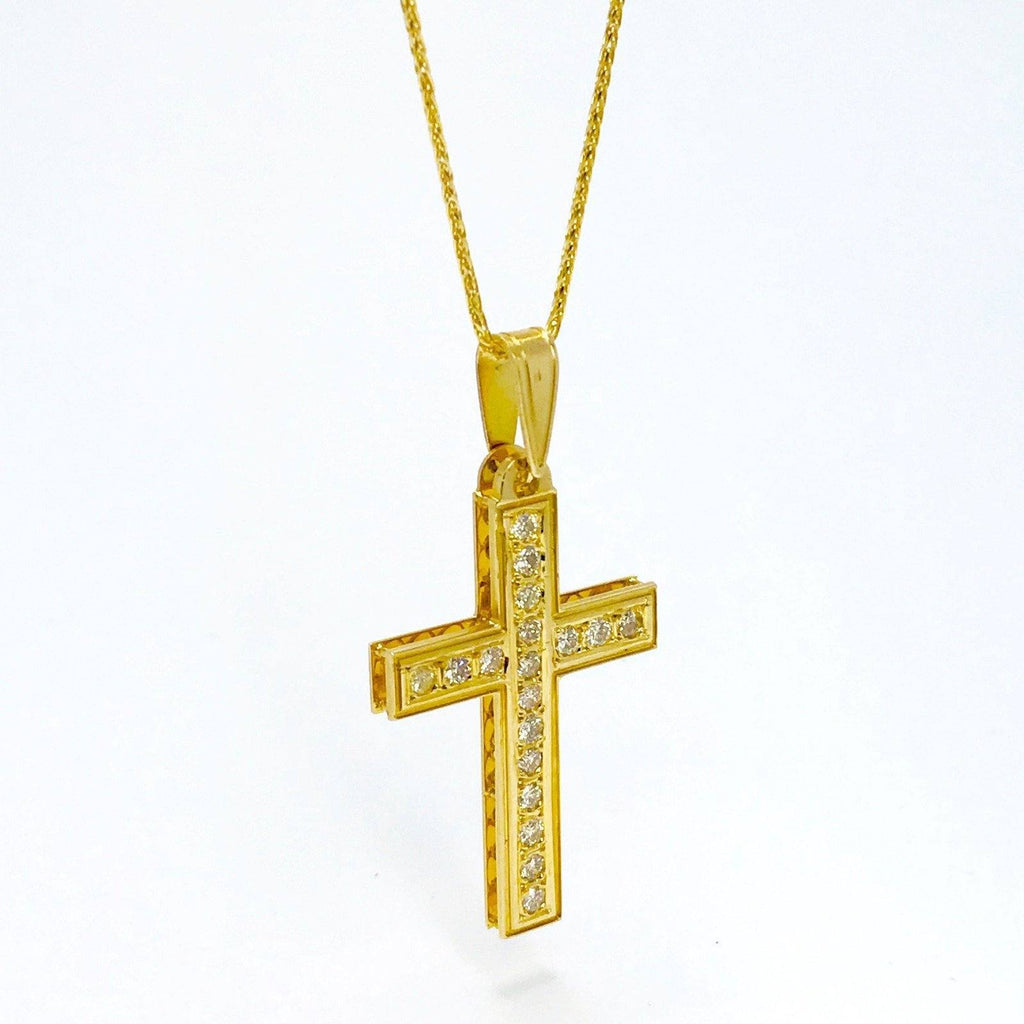 Diamond Cross Pendant Charms & Pendants Miscellaneous