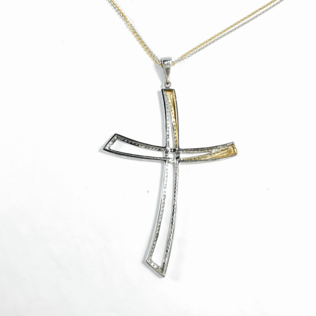 Diamond Cross Pendant Necklace Necklaces Miscellaneous