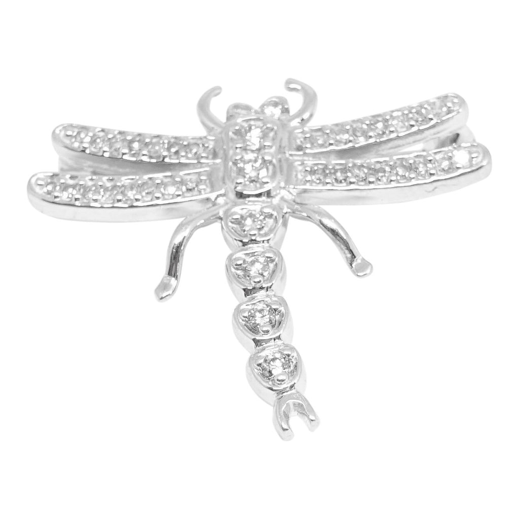 Diamond Dragonfly Brooch Brooches & Pins Miscellaneous