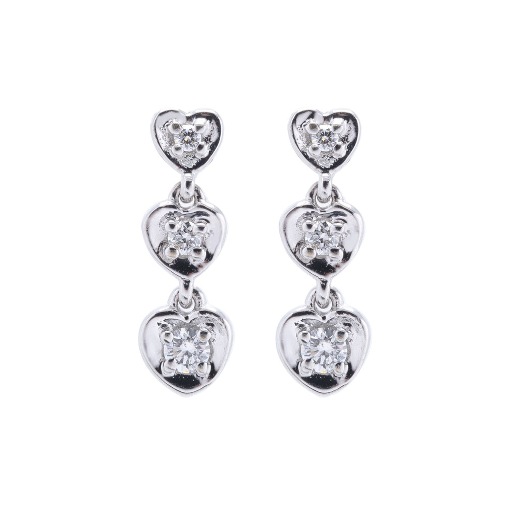 Diamond Drop Earrings Earrings Miscellaneous