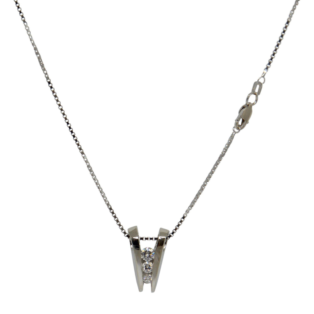 Diamond Drop Pendant Necklace Necklaces Miscellaneous