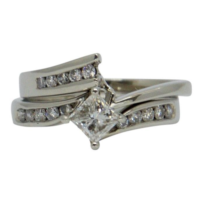 Diamond Engagement Ring Set Rings Miscellaneous